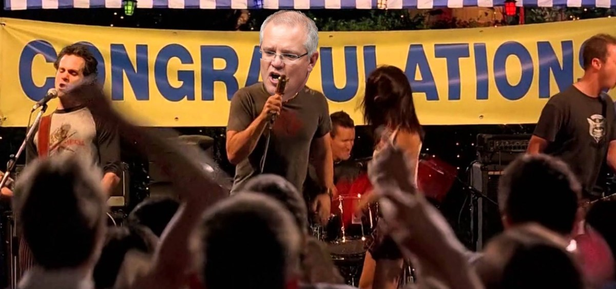 Scotty (Morrison) Doesn't Know his website renewal expired, hilarity ensues
